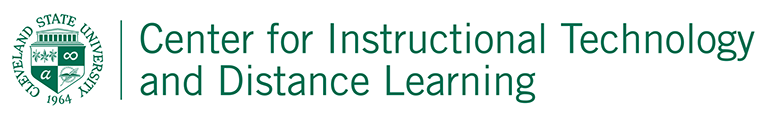 Center for Instructional Technology and Distance Learning Logo